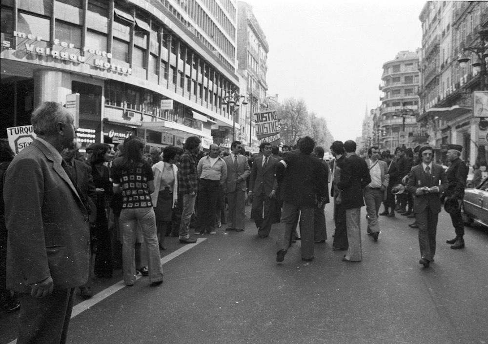 coll-vheloyan-manif-24avril1977-0015 - Year: 1977