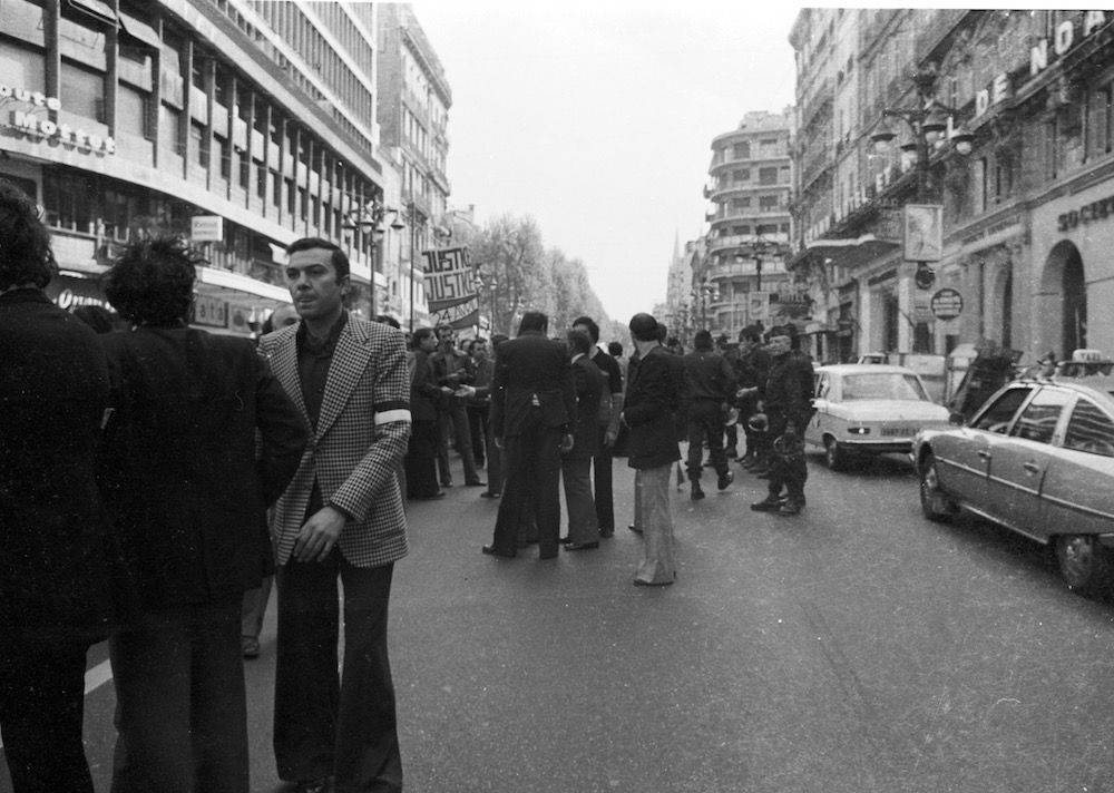 coll-vheloyan-manif-24avril1977-0016 - Year: 1977