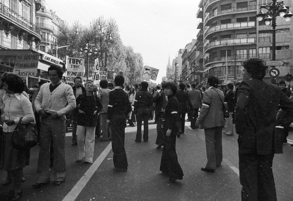 coll-vheloyan-manif-24avril1977-0022 - Year: 1977