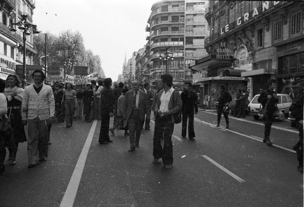 coll-vheloyan-manif-24avril1977-0024 - Year: 1977