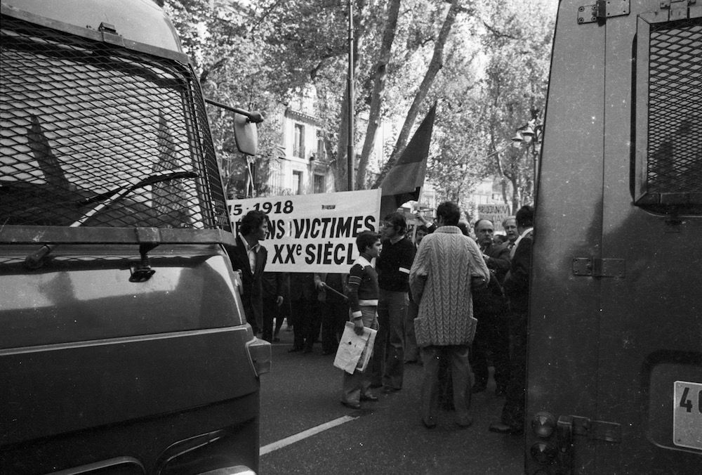 coll-vheloyan-manif-24avril1977-0029 - Year: 1977