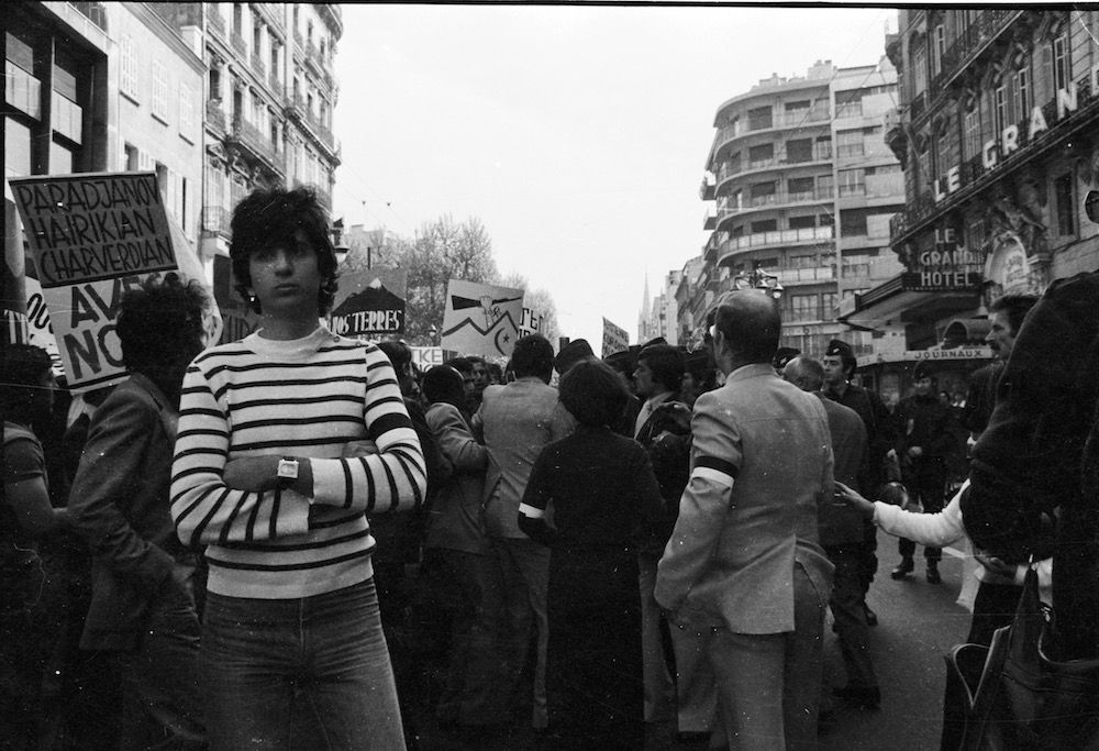 coll-vheloyan-manif-24avril1977-0034 - Year: 1977