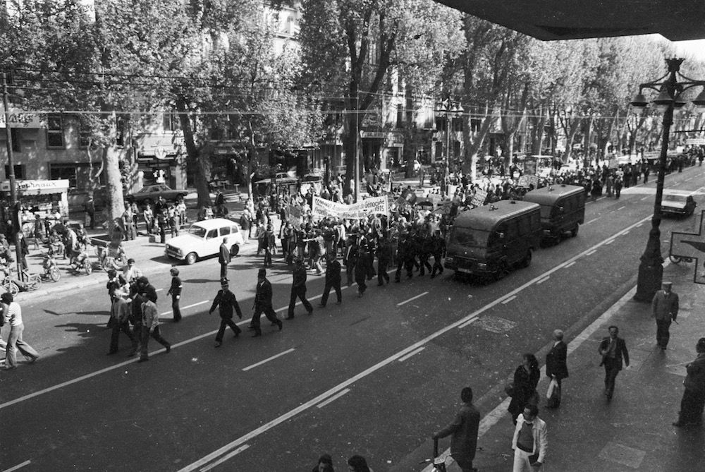 coll-vheloyan-manif-24avril1977-0041 - Year: 1977