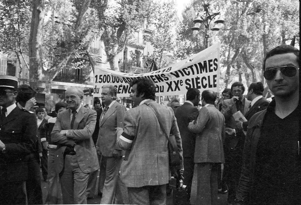 coll-vheloyan-manif-24avril1977-0044 - Year: 1977