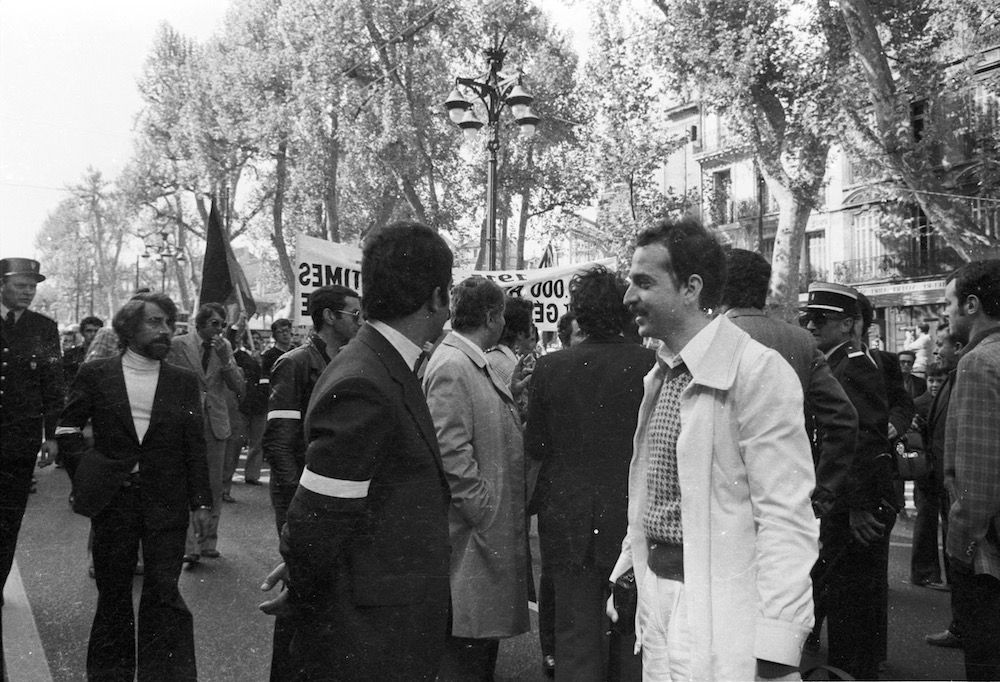 coll-vheloyan-manif-24avril1977-0045 - Year: 1977
